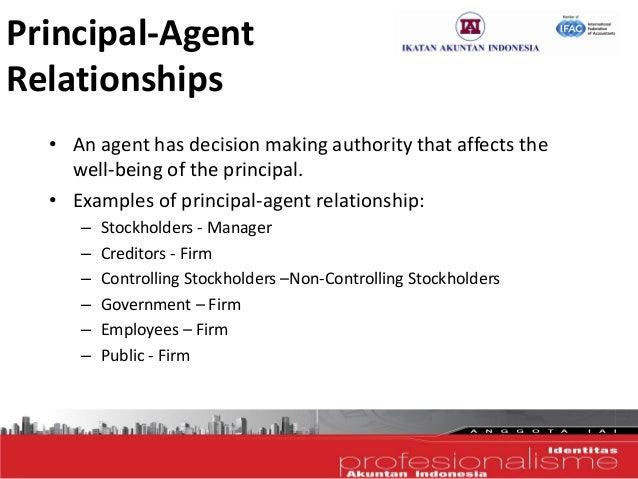 define principal and agent relationship
