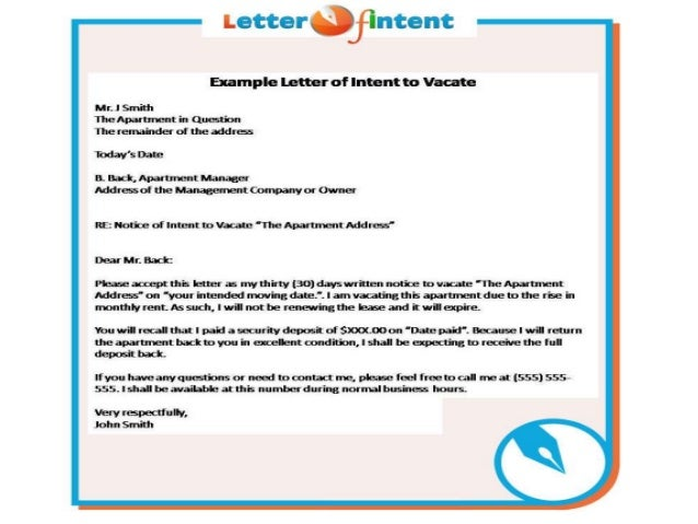 letter of intent template 2 letter of intent example 1405