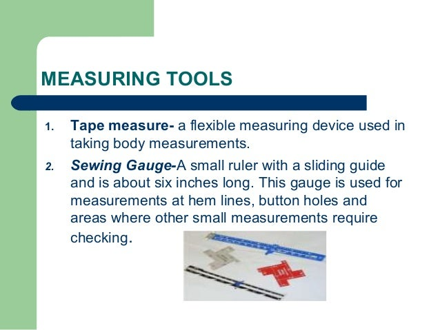 Sewing tools and equipments for To function in french
