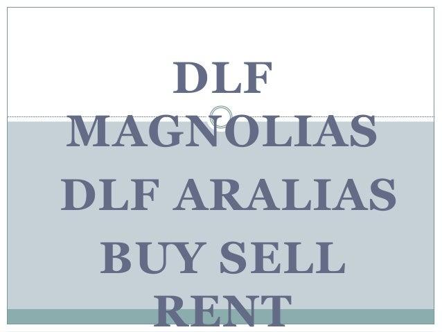 DLF MAGNOLIAS DLF ARALIAS BUY SELL RENT