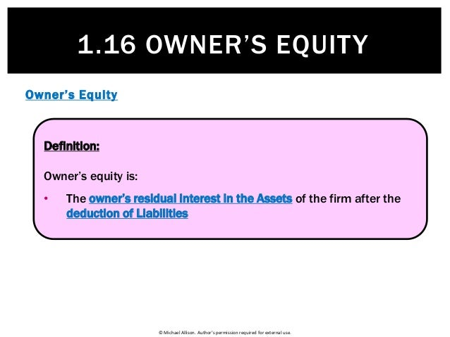 module 1 shareholder s equity 1 Assets of the company in proportion to the shareholder's equity after the completion of liquidation  fundamentals level – skills module, paper f4 (chn) 1.