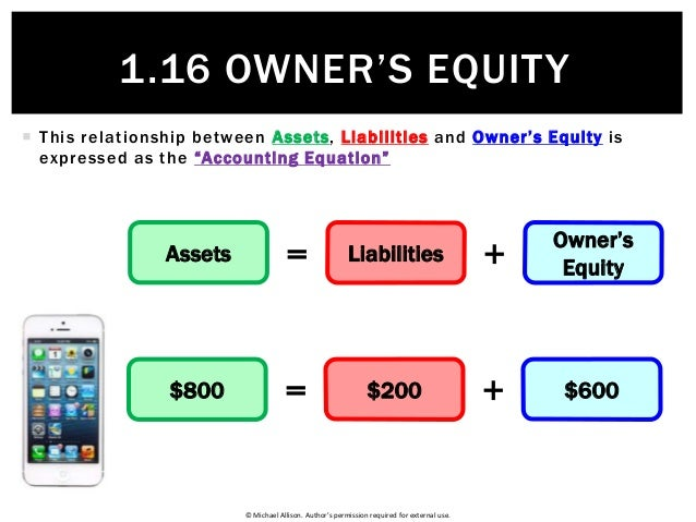 sources of capital owners equity Equity financing allows the business owner to distribute the financial risk among a larger group of people when you aren't making a profit, you don't have to make repayments and if the business.