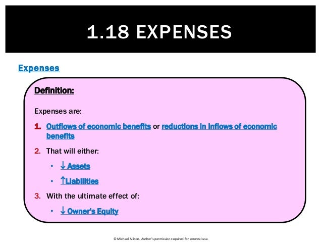 ... Accounting Expenses; 4.