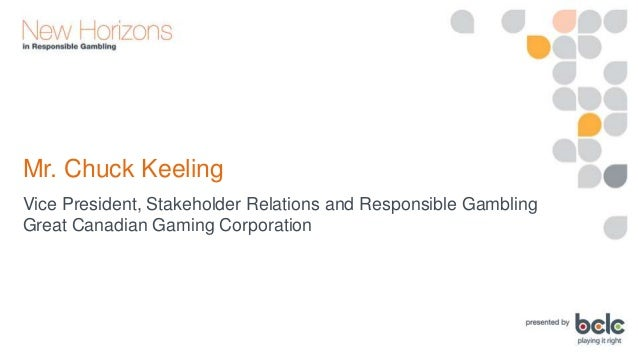 Chuck Keeling: The Integration of Responsible Gaming Practices and Culture at Casino Service Provider Level Slide 3