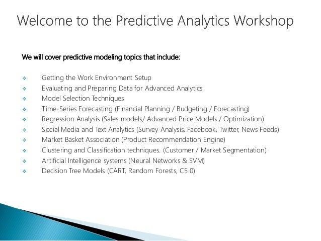 Data Science - Part I - Sustaining Predictive Analytics Capabilities Slide 3