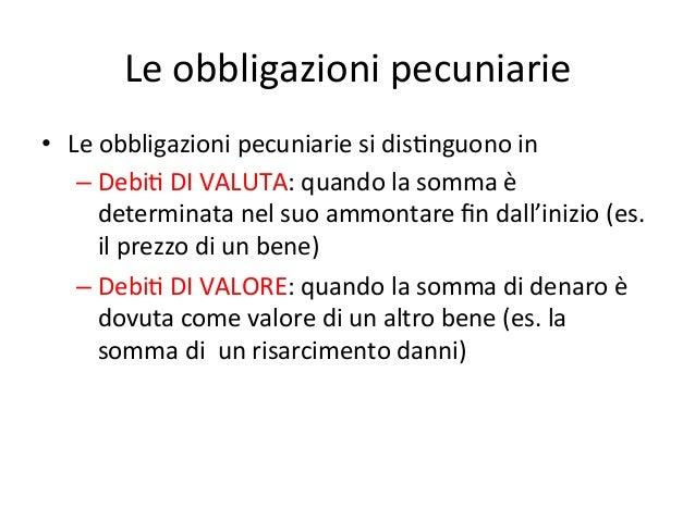 63314a15fb Le obbligazioni pecuniarie ...