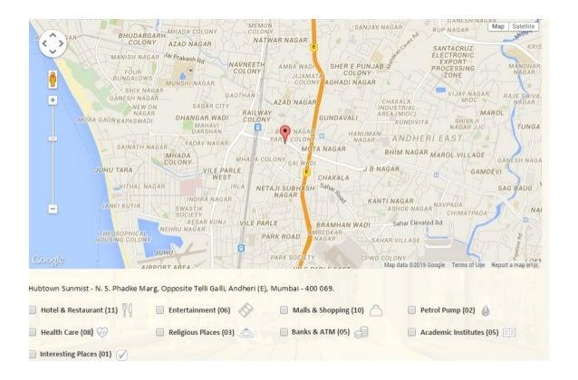 Hubtown Sunmist Andheri East Mumbai Price List Floor Plan