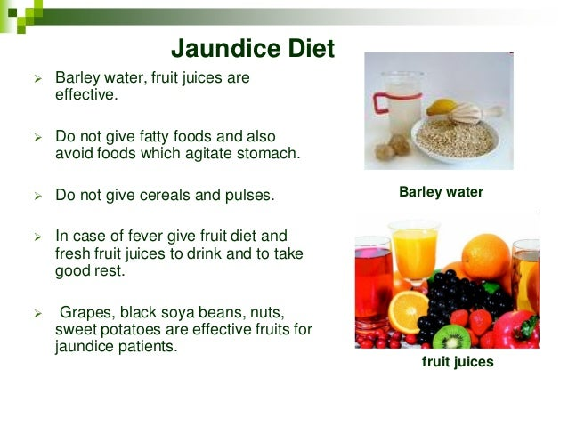 Best Foods To Cure Jaundice Quickly