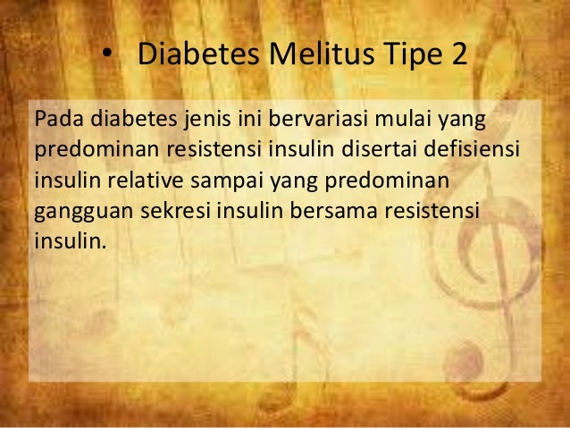 Diabetes Mellitus Type 2 - PowerPoint PPT Presentation