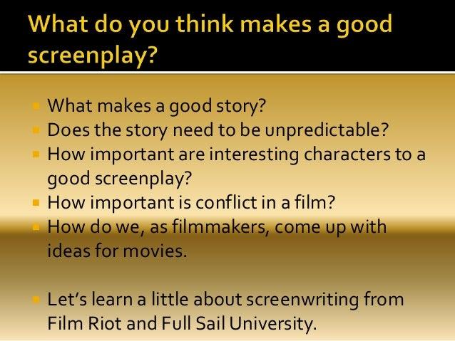How to write a script film riot revision3
