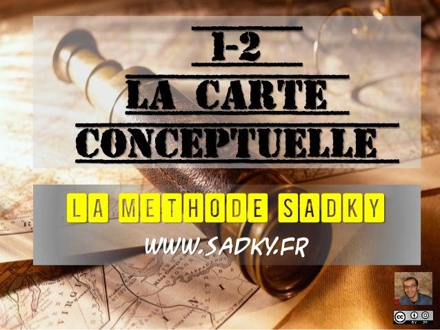 1-2 La carte conceptuelle LA METHODE SADKY www.sadky.fr