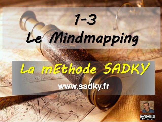 1-3 Le Mindmapping La mEthode SADKY www.sadky.fr