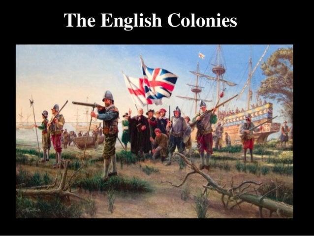 Hogan's History- English Colonies