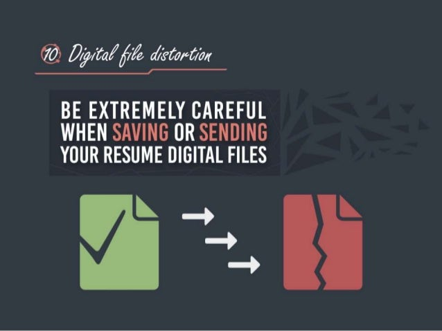 Avoid These 10 Resume Mistakes