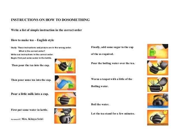 1 Instructions