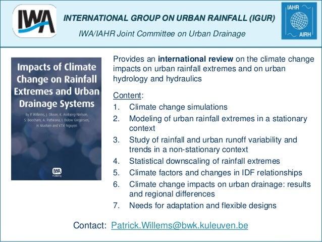 Patrick willems hydrology study