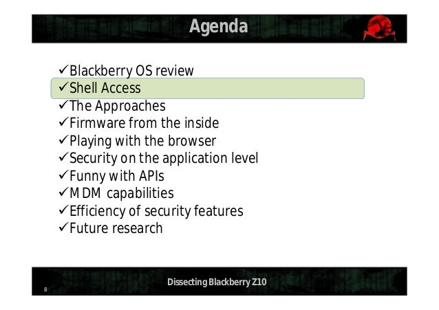 2 1  Dissecting blackberry