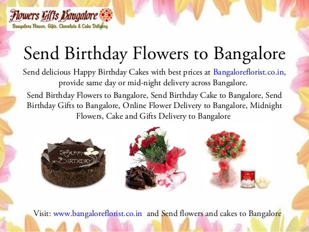 Cakes To Bangalore 6 Send Birthday
