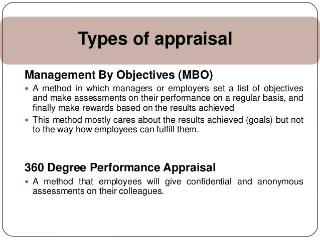 management and objectives performance review Performance reviews can be an ideal setting in which to set objectives for achievement in employee development initiatives  employees may set a goal of completing a management training course.