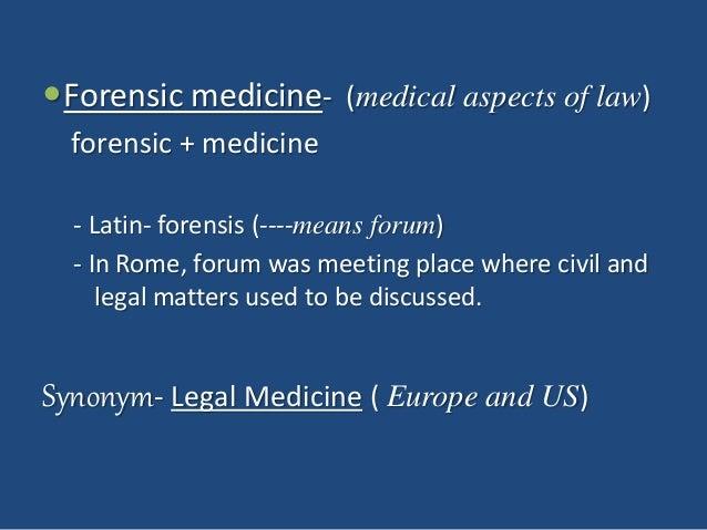 1. Introduction to Forensic Medicine Slide 3