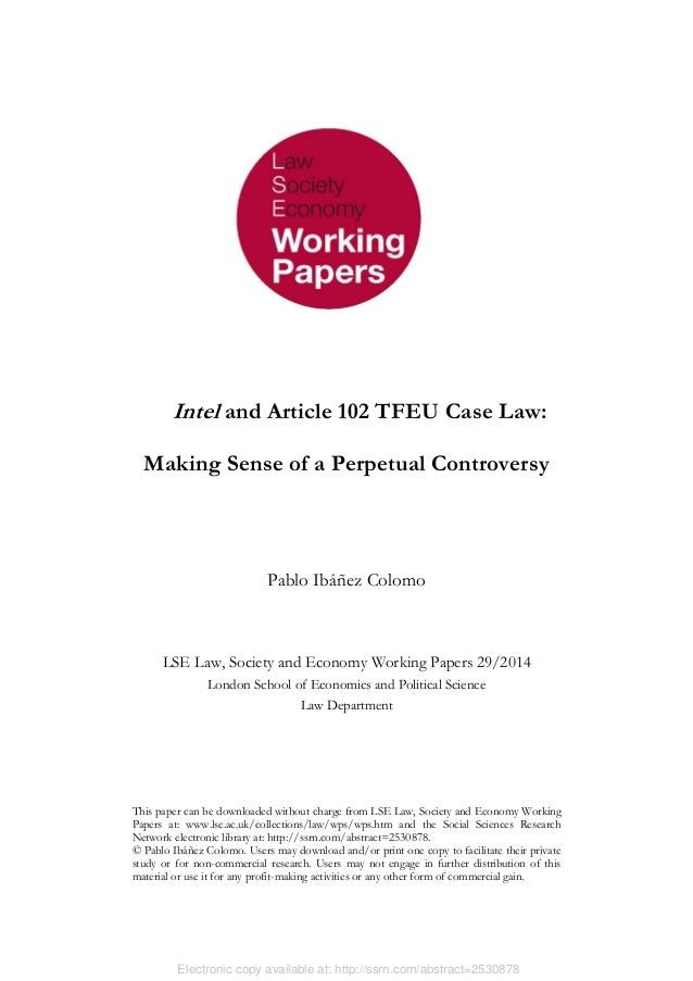 Electronic copy available at: http://ssrn.com/abstract=2530878 This paper can be downloaded without charge from LSE Law, S...
