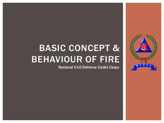 1.1.1 basic concept & behaviour of fire