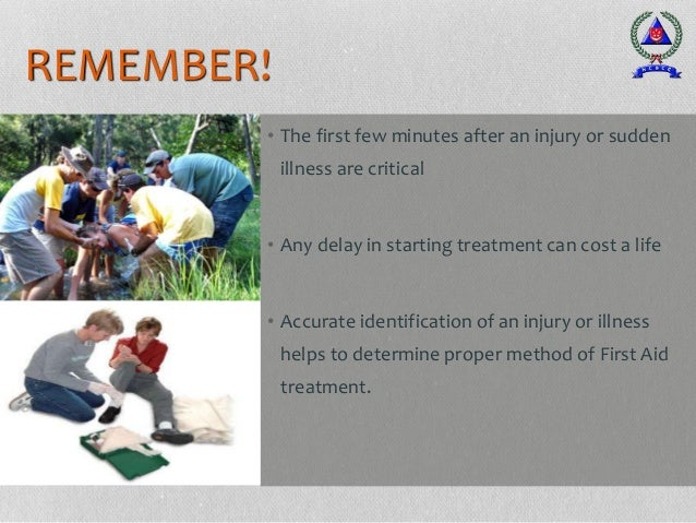 CONCLUSION • First Aid Measures serve to minimise further injuries or loss of lives. • It is important to train First Aide...