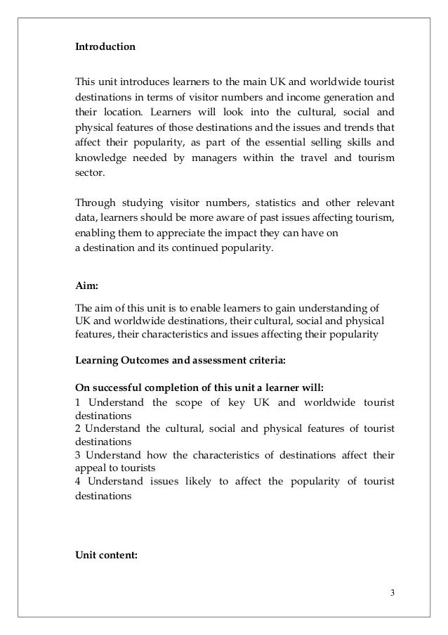 Unit 1 assignment an introduction