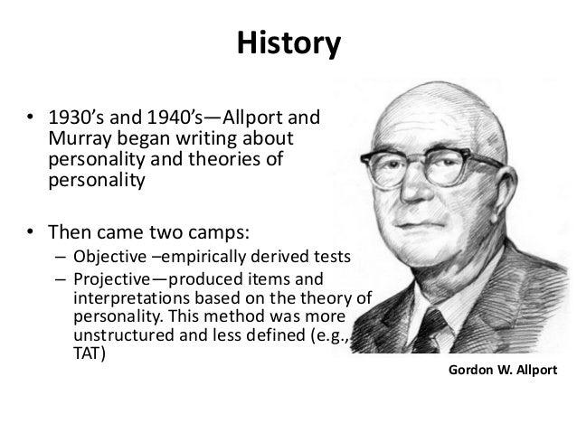 gordon allport essay Father was john edwards gordon w allport(1897~1967)allport a–s reaction  study高尔顿  the person in psychology: selected essays by gordon w allport.