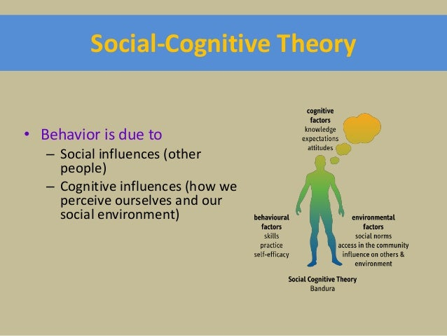 social cognitive theory of personality definition