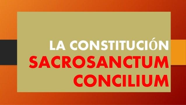 SACROSANCTUM CONCILIUM EM PDF DOWNLOAD