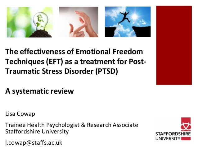 EFT for Efficient Treatment For Post-Traumatic Stress Disorder