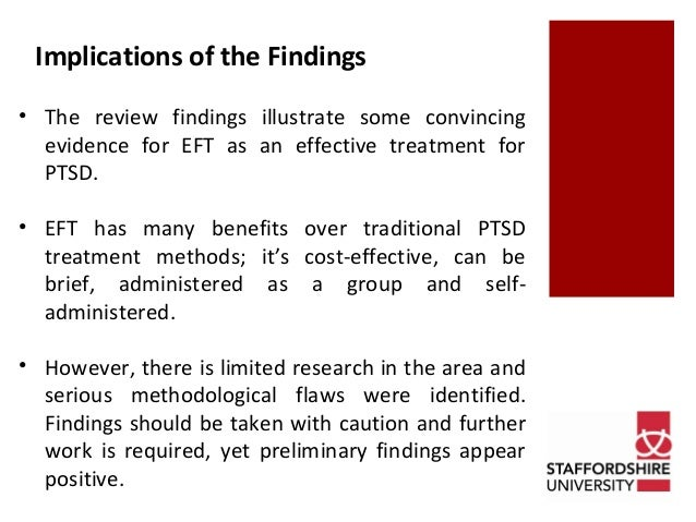 EFT for PTSD Effective Treatment For Post Traumatic Stress Disorder