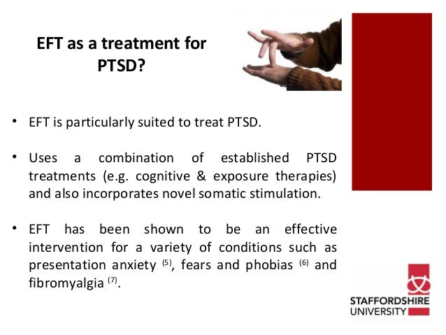 EFT for Successful Treatment For Post Traumatic Stress Disorder