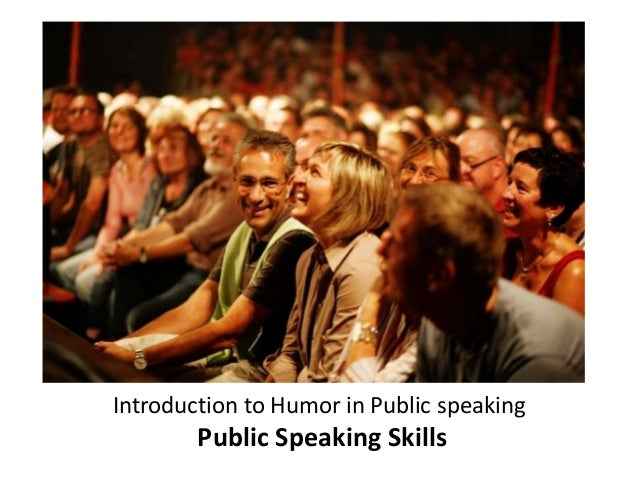 introduction to public speaking Public speaking is the process of communicating information to an audience it is  usually done before a large audience, like in school, the workplace and even in.