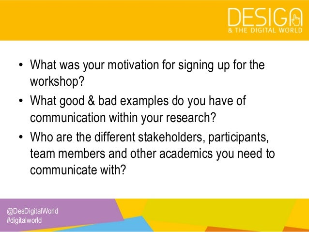 1. Getting to know your research team Slide 3