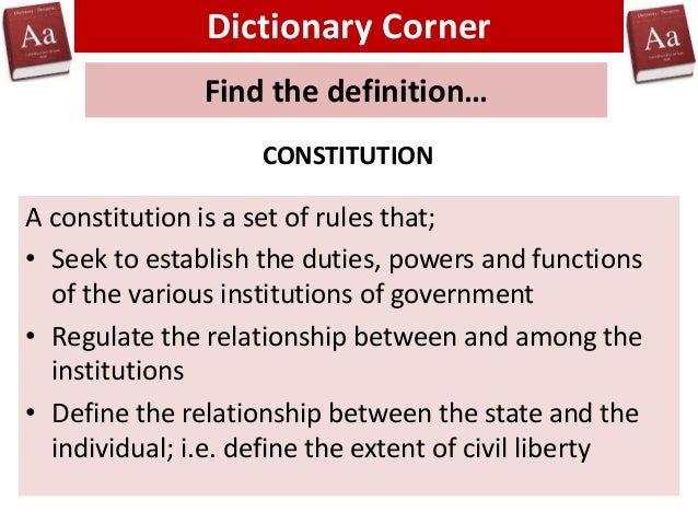 to what extent was the constitution Articles of confederation vs the constitution the following chart compares some of the provisions of the articles of confederation with those in the constitution.