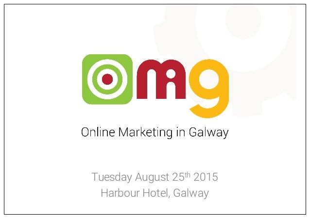 Tuesday August 25th 2015 Harbour Hotel, Galway