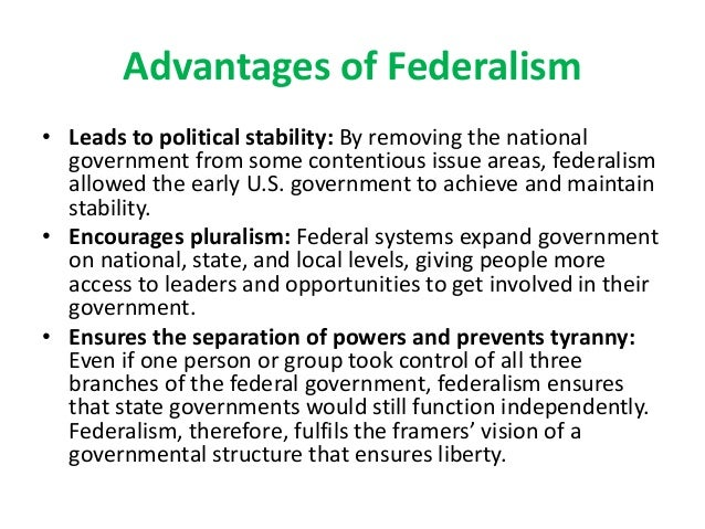 federal government essay The term federation is derived from the latin word foedus meaning treaty or agreement a federal polity comes into existence either as a result of centripetal or centrifugal forces.