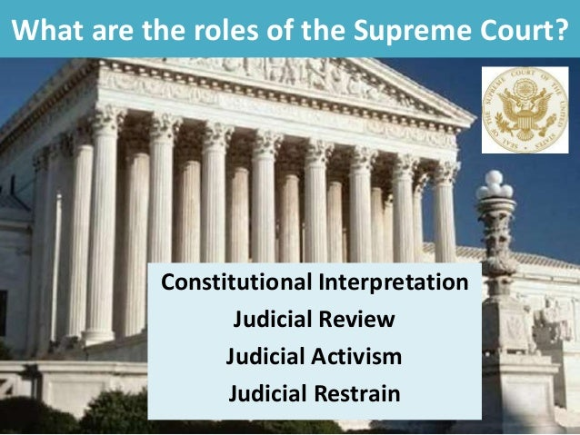 the role of the judges in the judicial system of the untied states Background the judicial powers of individual states are generally vested in various courts created by state system state courts in the united states.