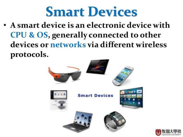 Introduction To Smart Devices