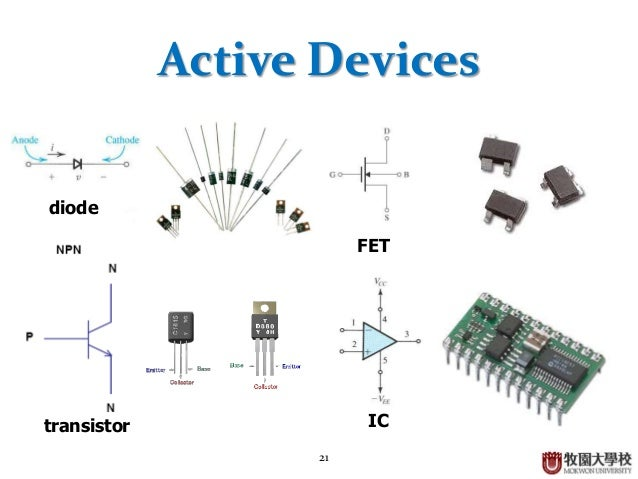 Semiconductor and Electronic Circuits