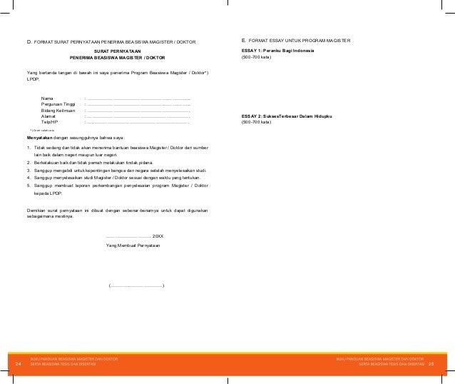 Format Surat Rekomendasi Beasiswa Lpdp Altin Northeastfitness Co