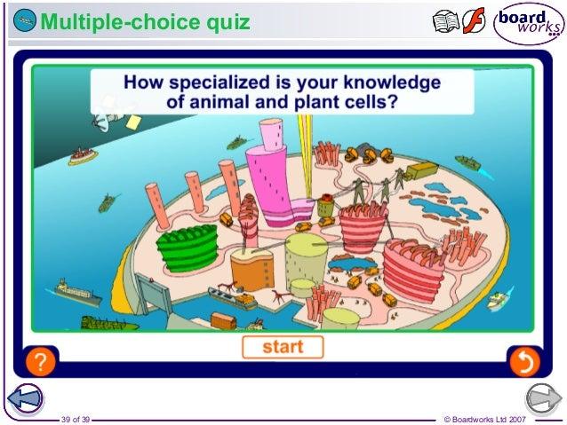 © Boardworks Ltd 200739 of 39 Multiple-choice quiz