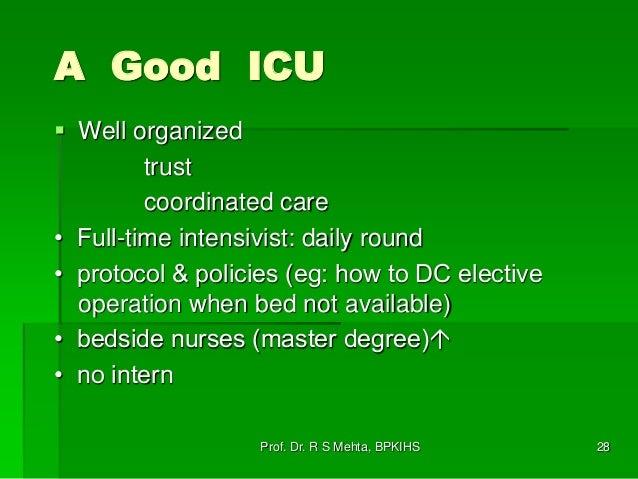 1 critical care – What Makes a Good Icu Nurse