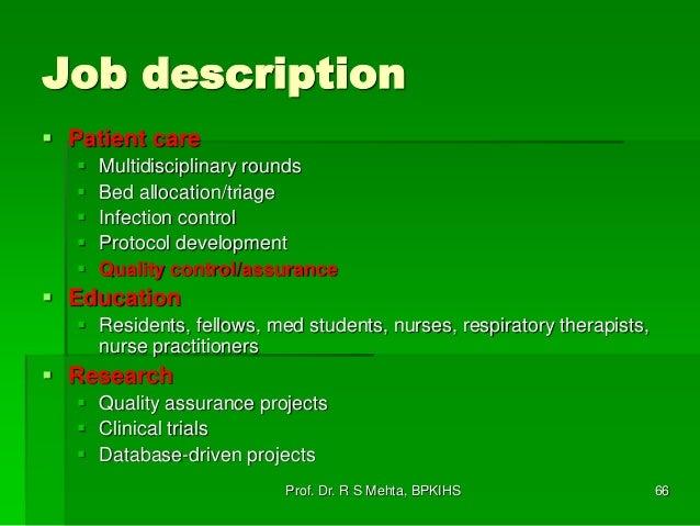1. critical care