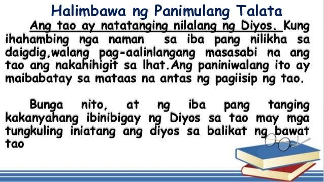 Halimbawa ng talata na descriptiv