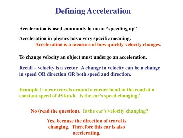 how to find acceleration in physics