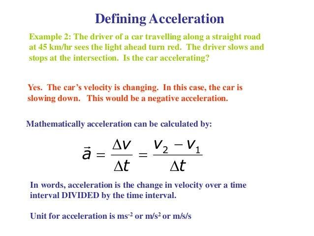 1.4 acceleration