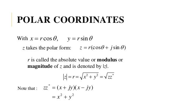 1. introduction to complex numbers
